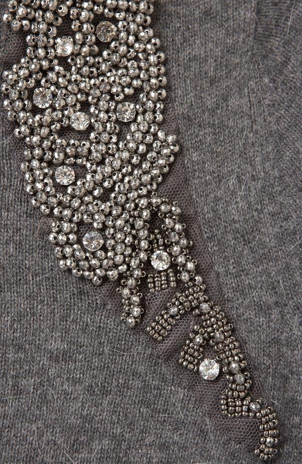 Alternate Image 3  - Topshop Embellished Harness Sweater