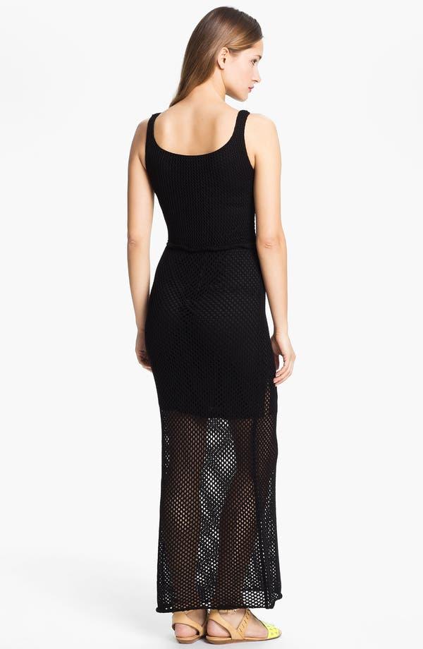 Alternate Image 2  - Taylor Dresses Crochet Maxi Dress