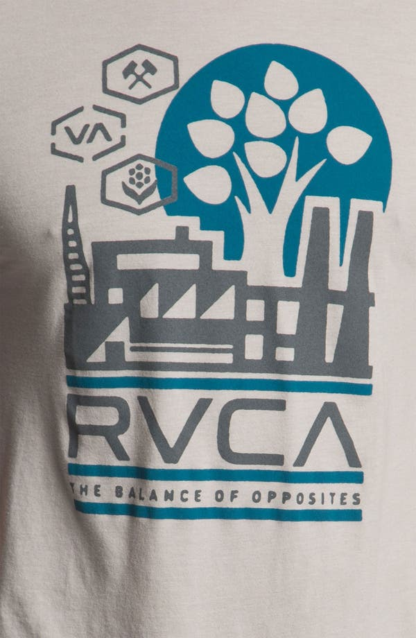 Alternate Image 3  - RVCA 'Construct' Vintage Wash T-Shirt