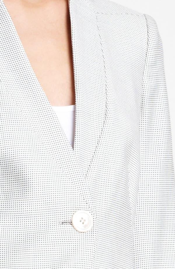 Alternate Image 5  - Armani Collezioni One Button Jacket