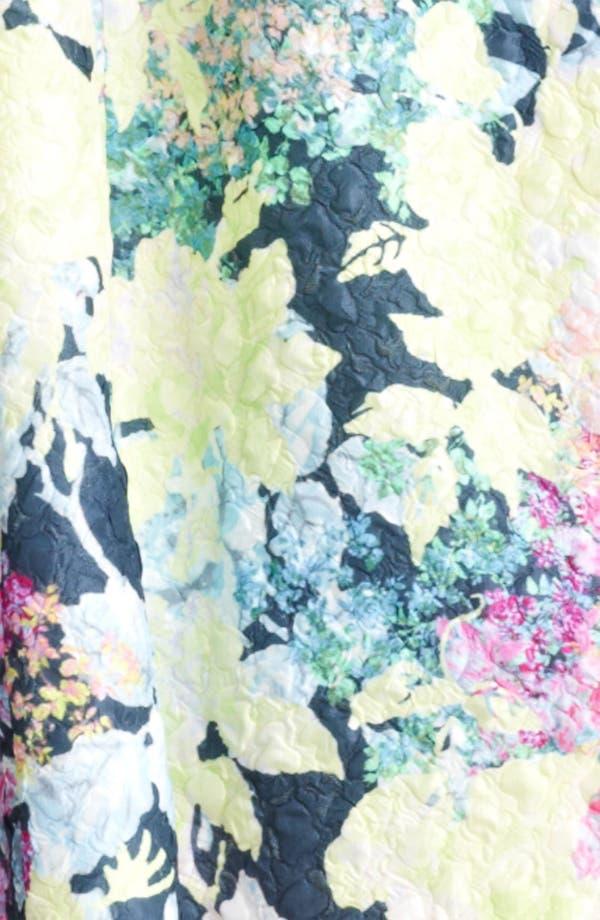 Alternate Image 3  - Erdem 'Imperial Rose' Print Silk Brocade Dress