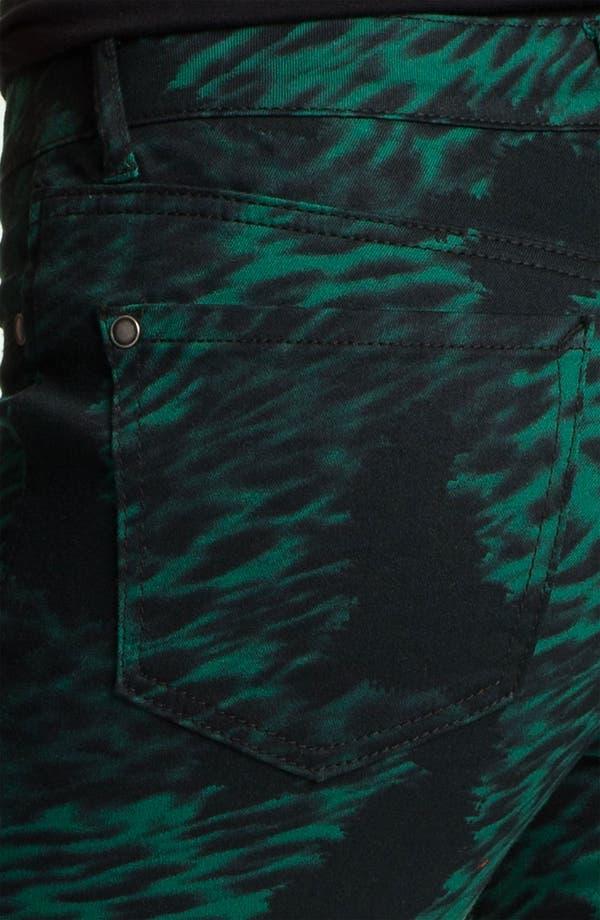 Alternate Image 3  - Jessica Simpson 'Kiss Me' Print Twill Skinny Jeans