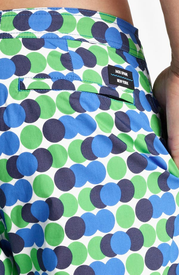 Alternate Image 3  - Jack Spade 'Decker' Dot Board Shorts
