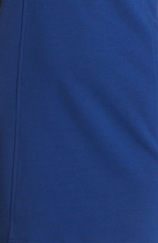 Alternate Image 3  - Cut25 Leather & Ponte Knit Dress