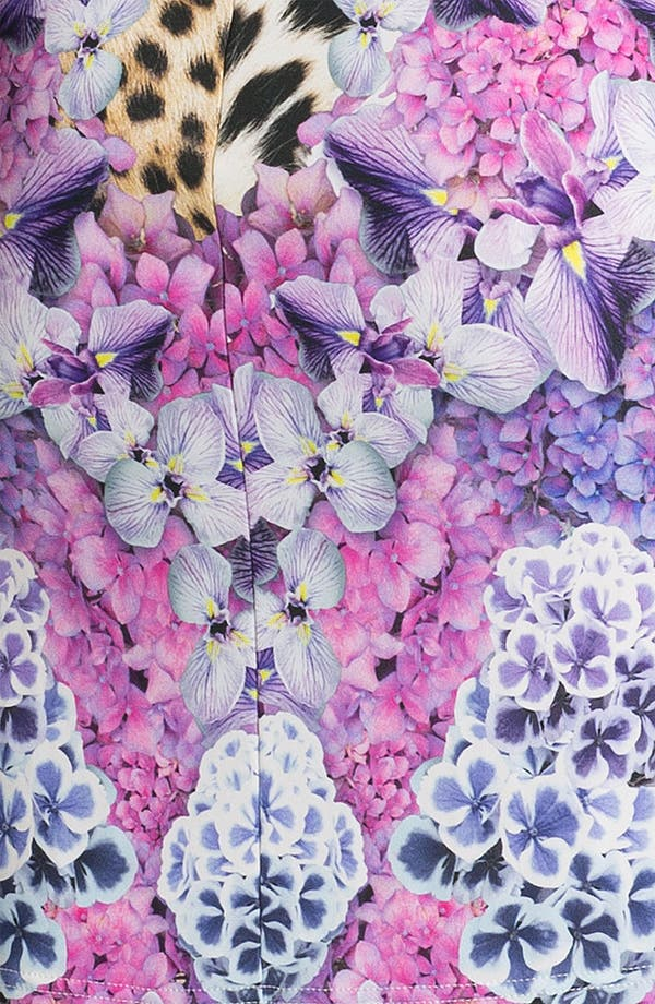 Alternate Image 3  - Just Cavalli Leopard & Floral Print Jersey Dress
