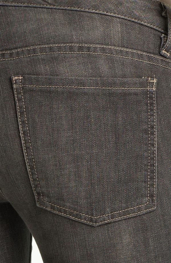 Alternate Image 3  - L'AGENCE Skinny Moto Crop Jeans