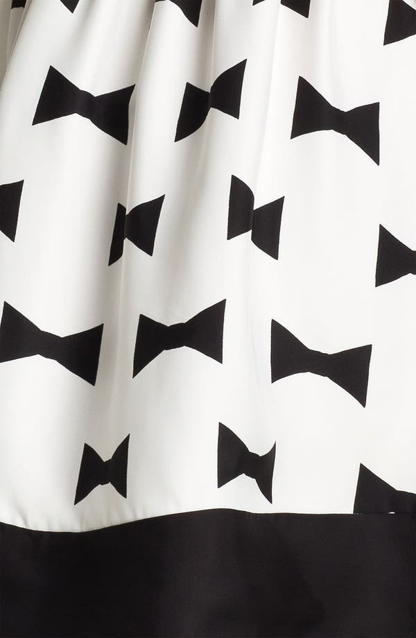Alternate Image 3  - kate spade new york 'monroe' print fit & flare dress