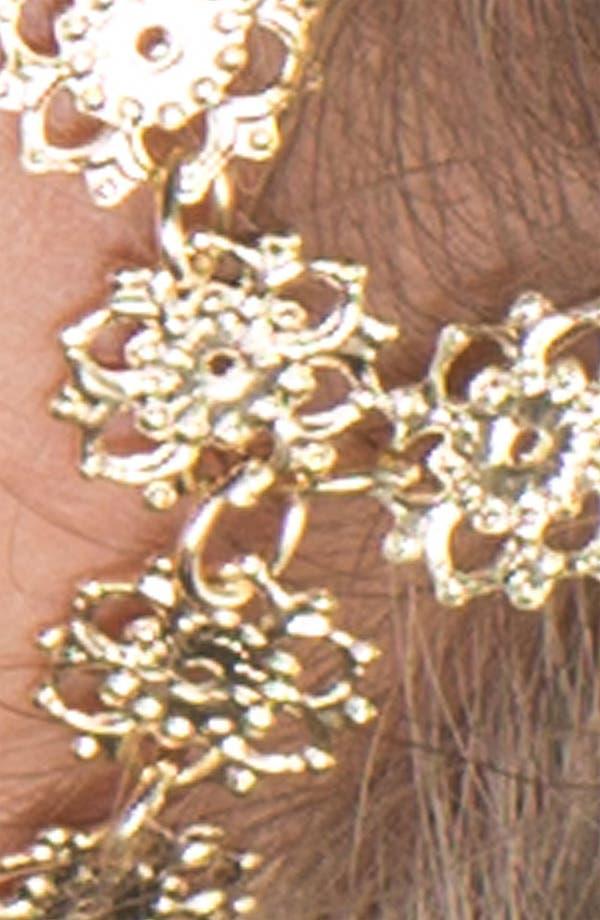 Alternate Image 2  - Carole Floral Chain Head Wrap