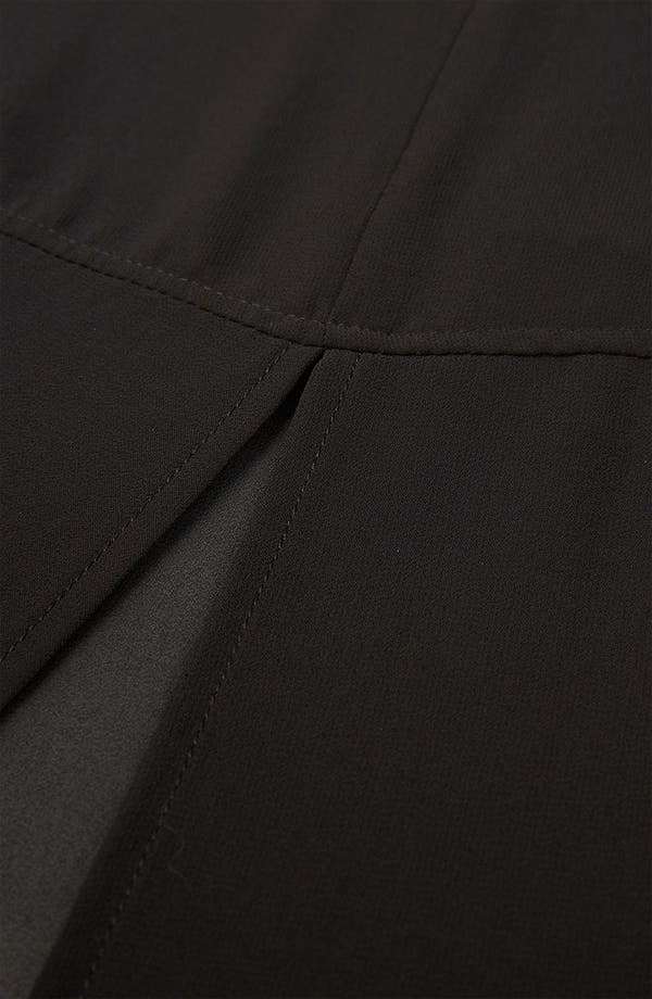 Alternate Image 3  - Topshop Half Sheer Skirt