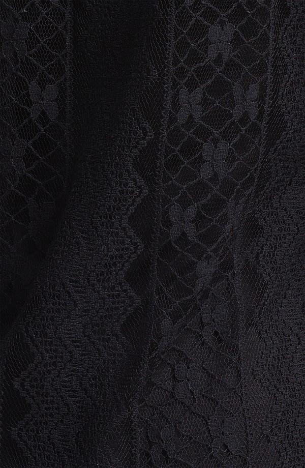 Alternate Image 3  - Ella Moss 'Kayte' Lace Peasant Top