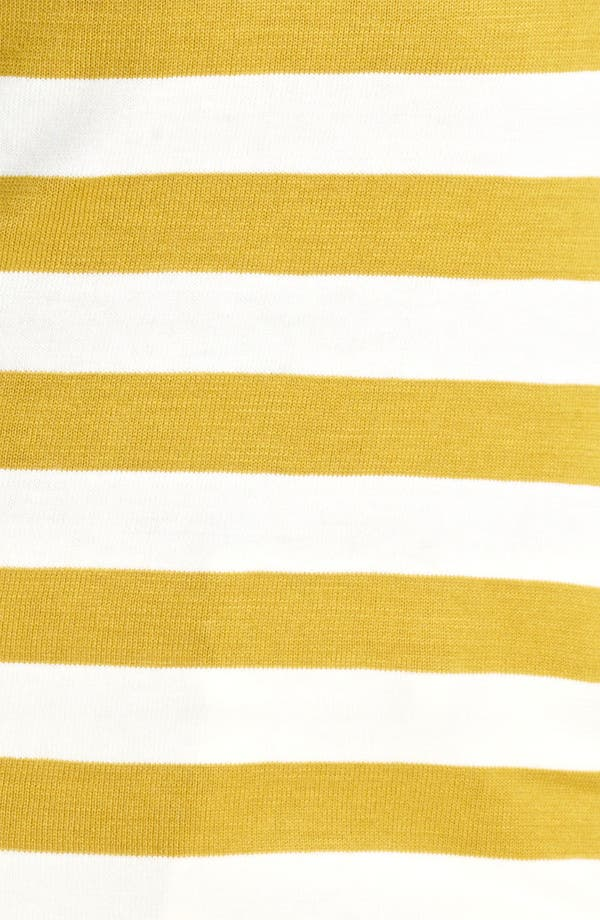 Alternate Image 3  - Burberry London Stripe Silk & Cotton Top