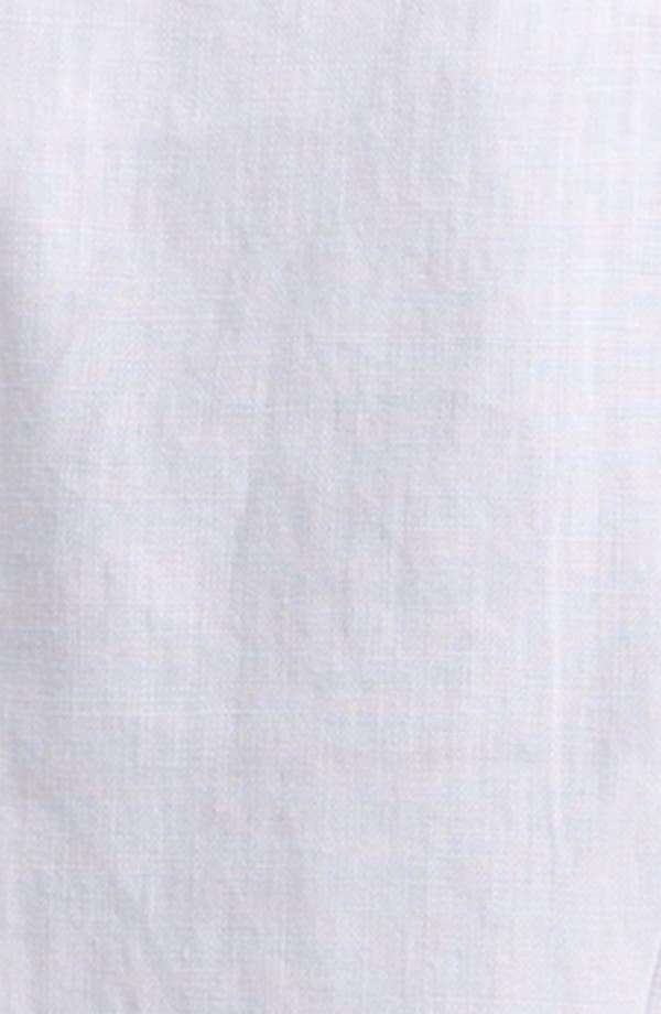Linen Blazer,                             Alternate thumbnail 5, color,                             White