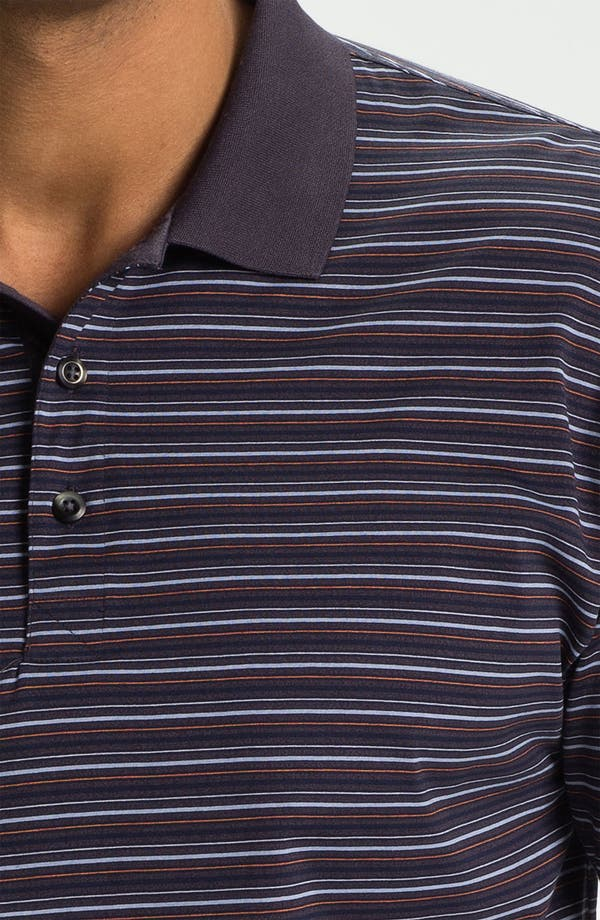 Alternate Image 3  - Cutter & Buck '70/2's Performance Andrew Stripe' Regular Fit Polo (Online Only)