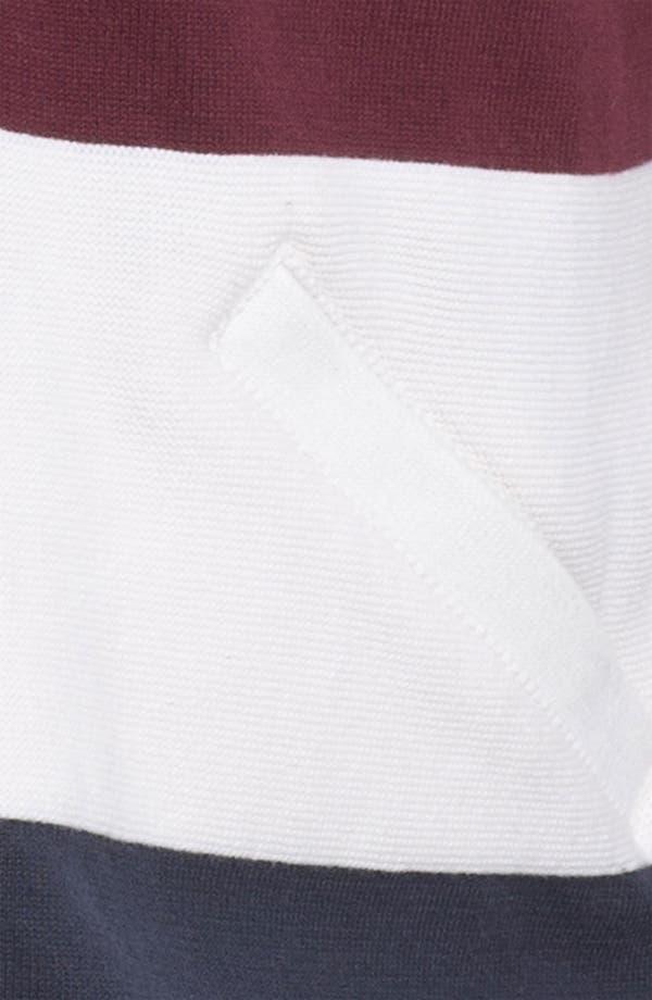 Alternate Image 3  - Marshall Artist Stripe Cotton Hooded Jacket
