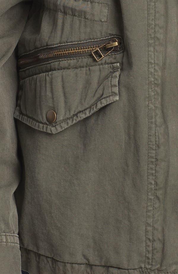 Alternate Image 3  - Lily Aldridge for Velvet by Graham & Spencer Army Jacket