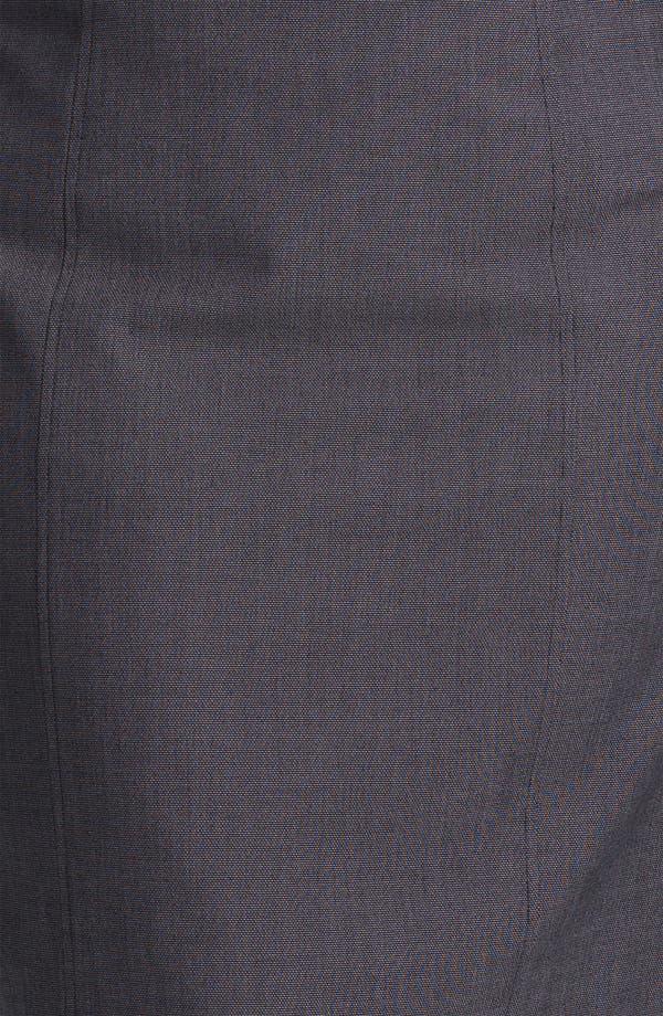Alternate Image 3  - Sejour 'Zola' Twill Suit Skirt (Plus Size)