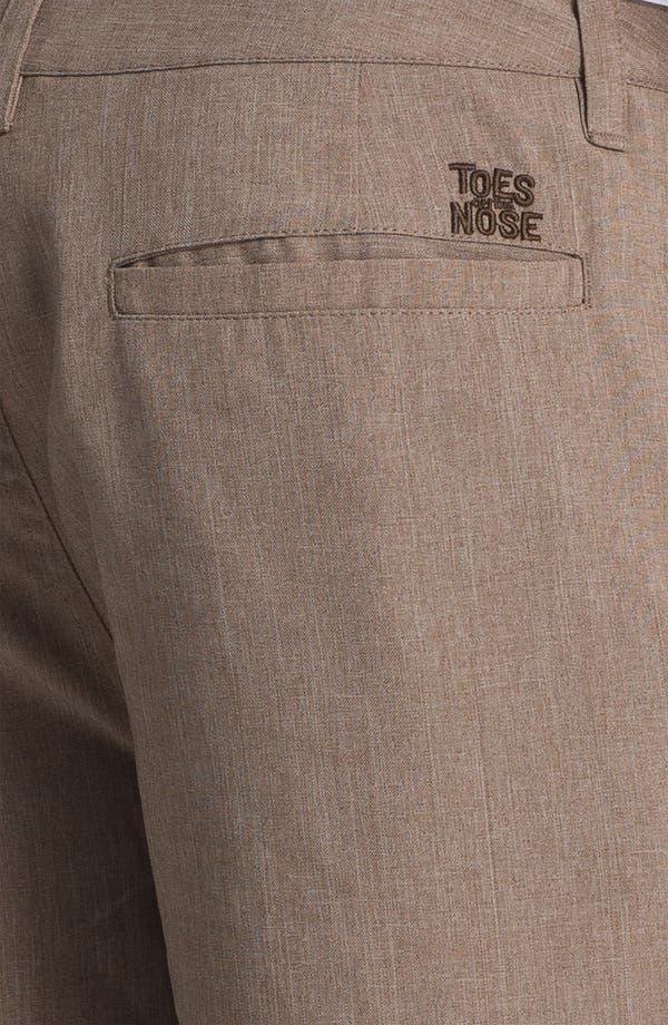 Alternate Image 3  - Toes on the Nose 'Rocker' Khaki Shorts