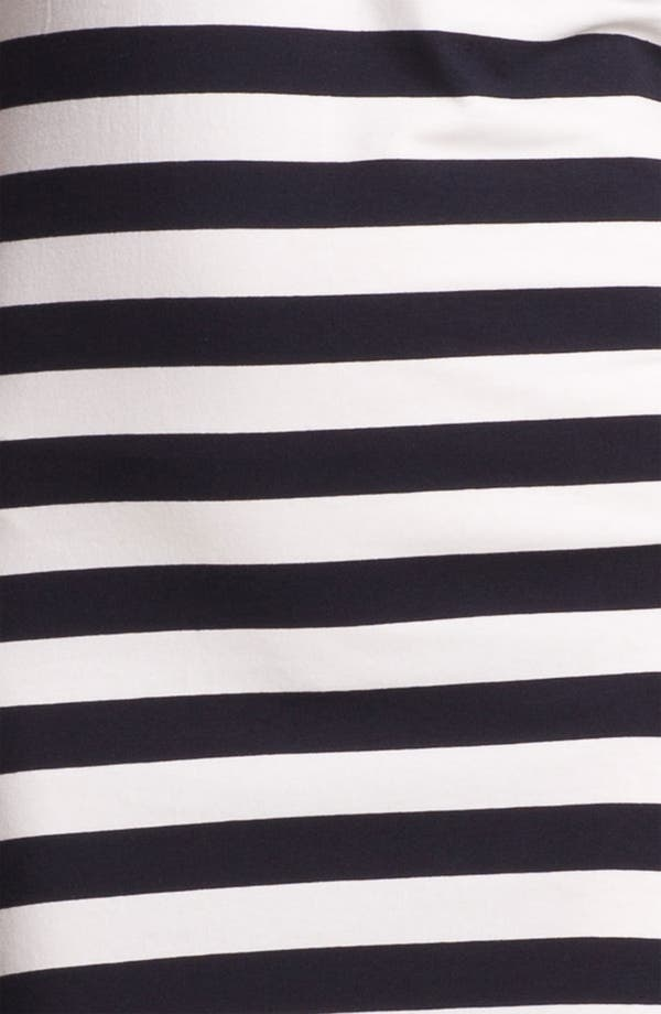Alternate Image 3  - French Connection Stripe Cap Sleeve Knit Dress