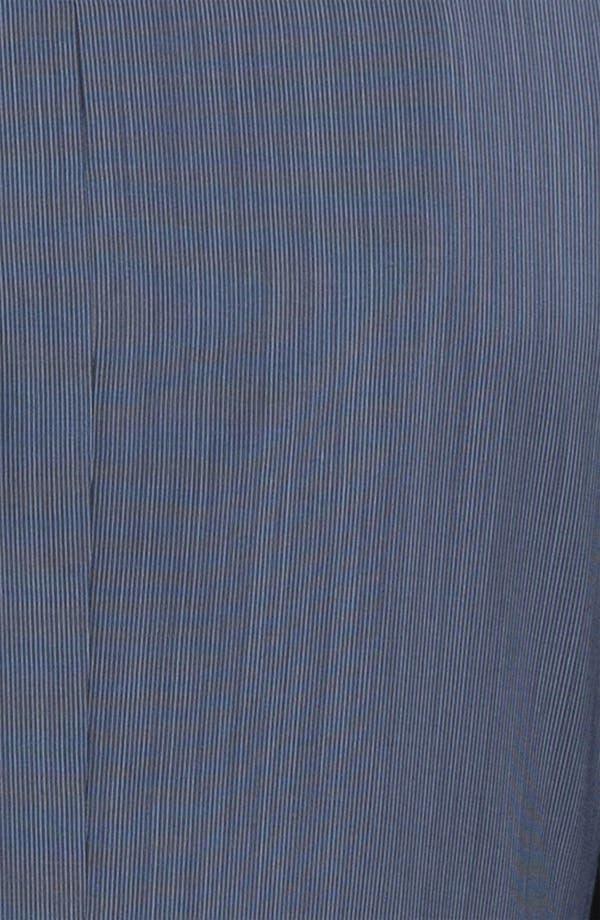 Alternate Image 6  - Joseph Abboud 'Profile' Trim Fit Stripe Wool Suit