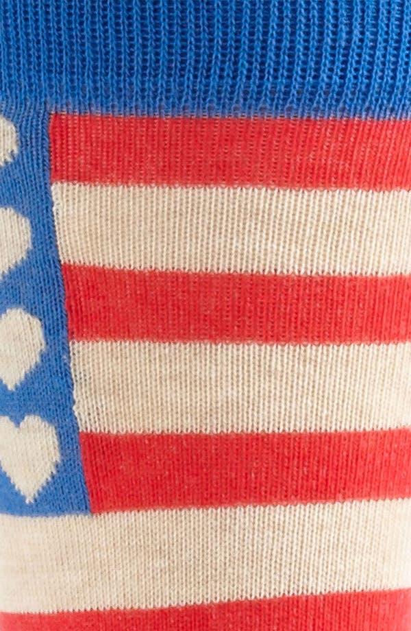 Alternate Image 2  - Topman 'Valentines - America Sweetheart' Socks