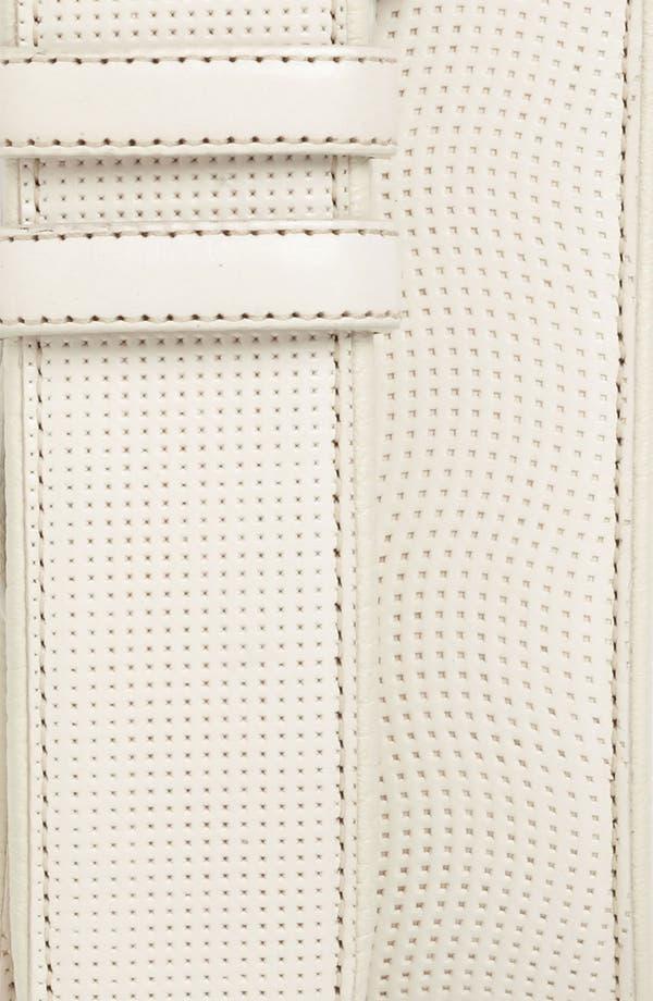 Alternate Image 2  - Mezlan Deerskin Leather Belt