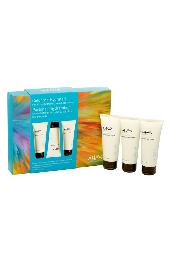 Main Image - AHAVA 'Color Me Hydrated' Mineral Cream Trio ($50 Value)