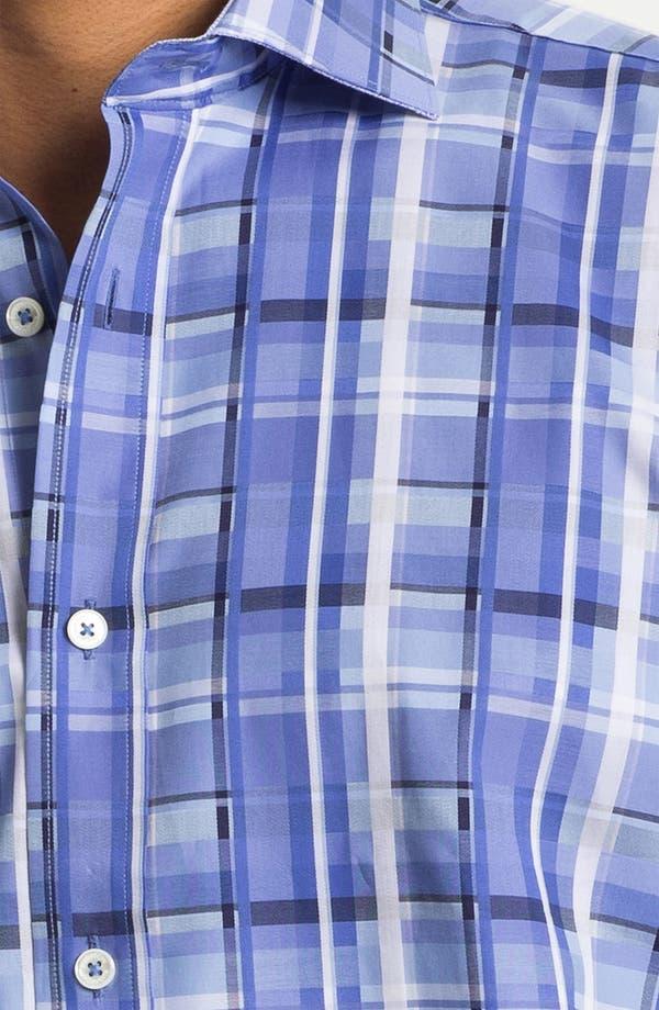 Alternate Image 3  - BUGATCHI Classic Fit Sport Shirt (Tall)