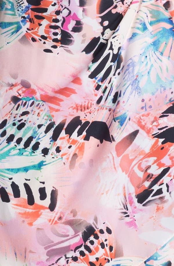Alternate Image 3  - Presley Skye Ruffled Faux Wrap Dress