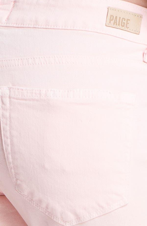Alternate Image 3  - Paige Denim 'James' Destroyed Crop Jeans (Blossom Deconstruction)