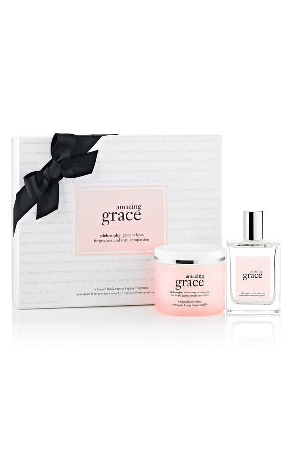 Alternate Image 1 Selected - philosophy 'amazing grace' gift set