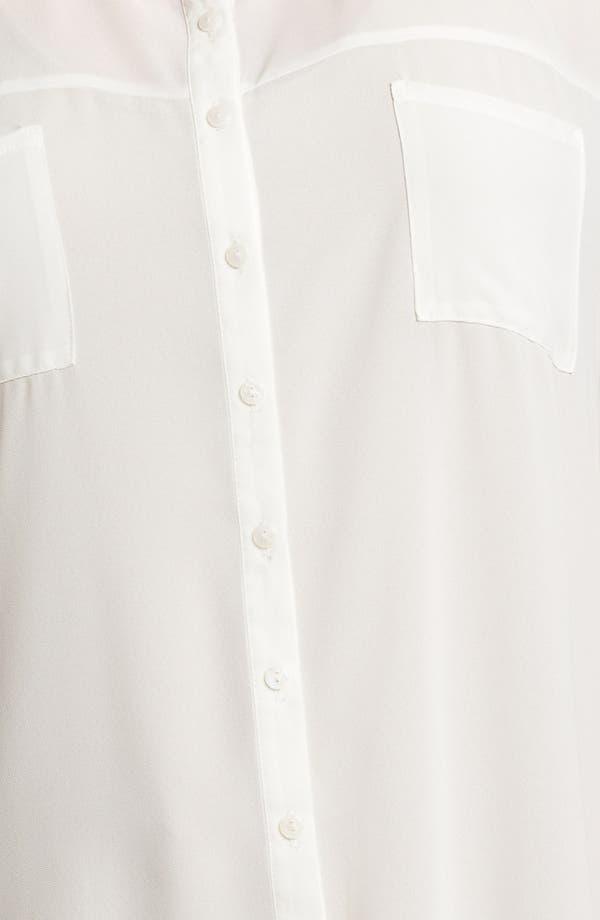 Alternate Image 3  - Evans Button Down Tunic (Plus Size)