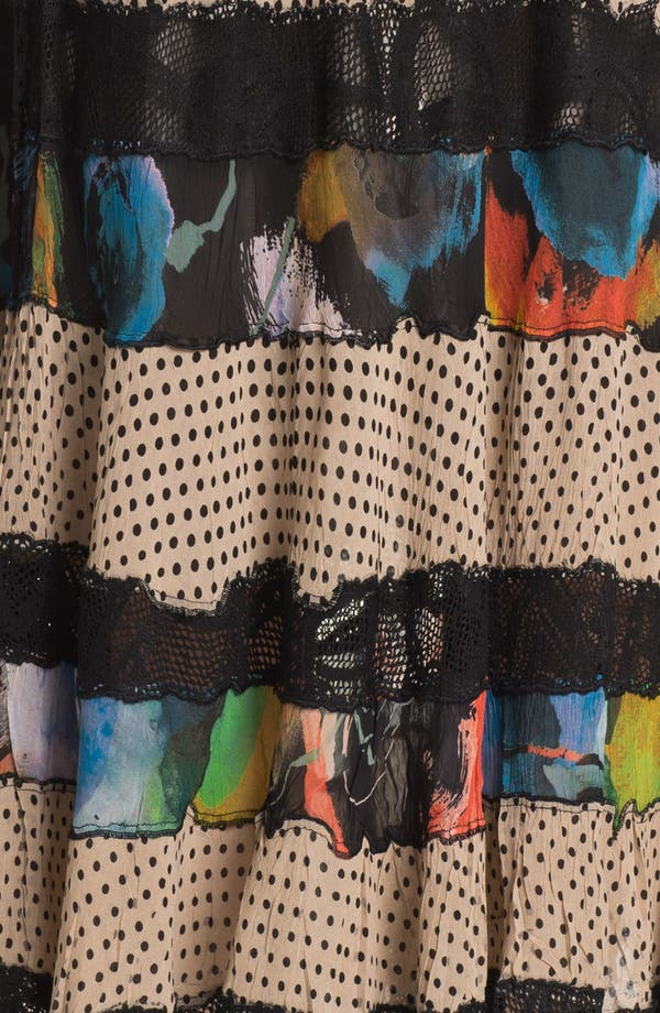 Alternate Image 3  - Komarov Mix Pattern Maxi Skirt