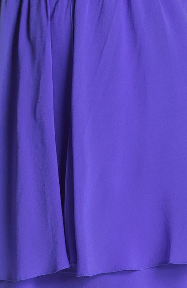 Alternate Image 3  - Nicole Miller Blouson Peplum Dress
