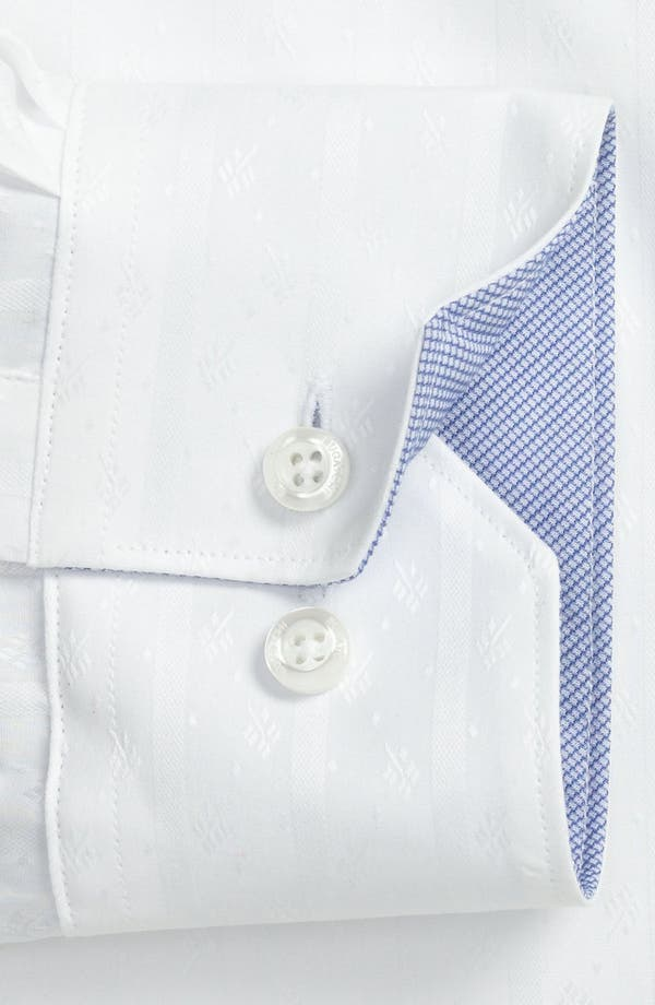 Alternate Image 2  - Bugatchi Trim Fit Dress Shirt