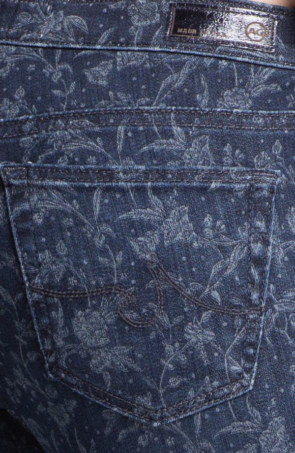 Alternate Image 3  - AG Jeans 'Liberty of London' Print Denim Ankle Legging (Denim Hyde)