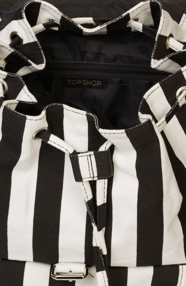 Alternate Image 2  - Topshop Stripe Backpack