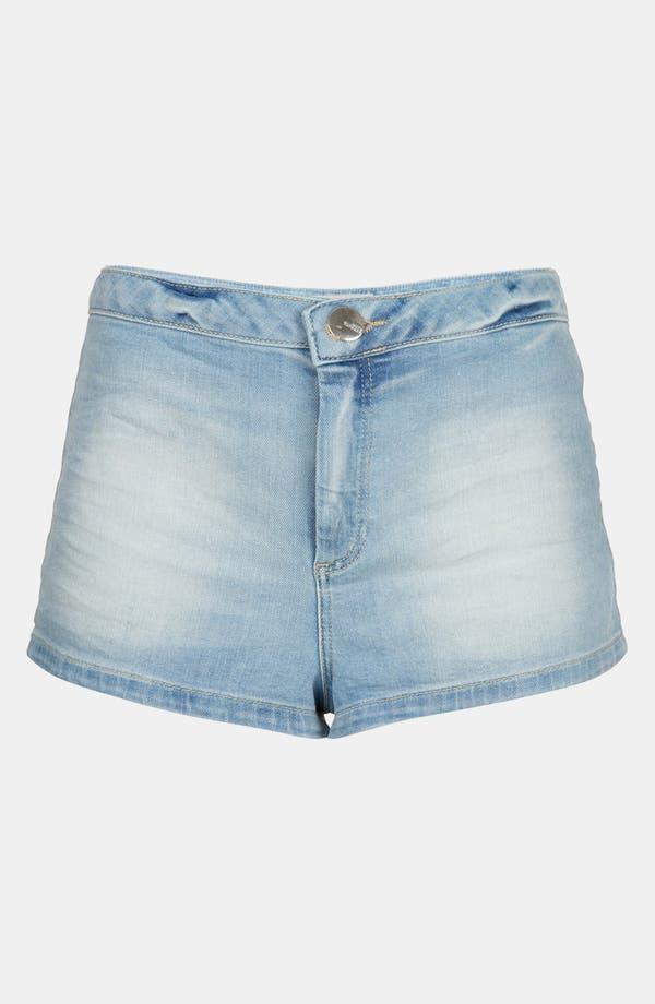 Alternate Image 3  - Topshop 'Francis' Bleached Denim Shorts