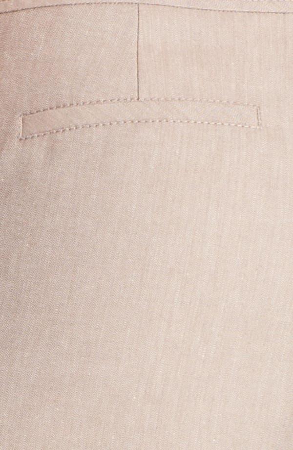 Alternate Image 3  - Halogen® 'Taylor' Herringbone Curvy Fit Pants