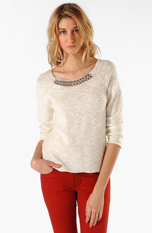 Main Image - maje 'Arizane' Bouclé Sweater
