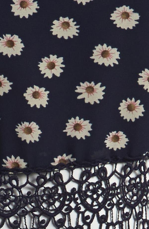 Alternate Image 4  - Lucca Couture Floral Skater Dress