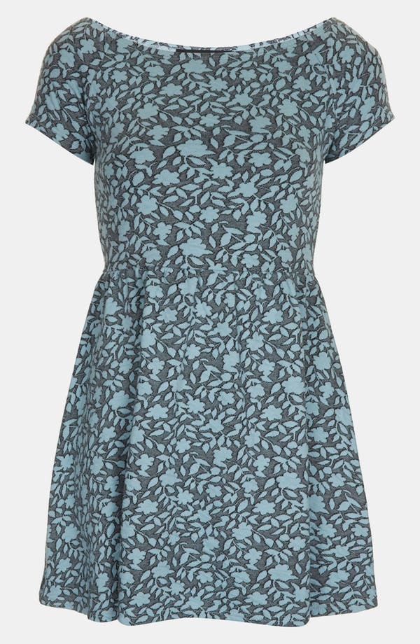 Alternate Image 1 Selected - Topshop Floral Jacquard Dress (Petite)