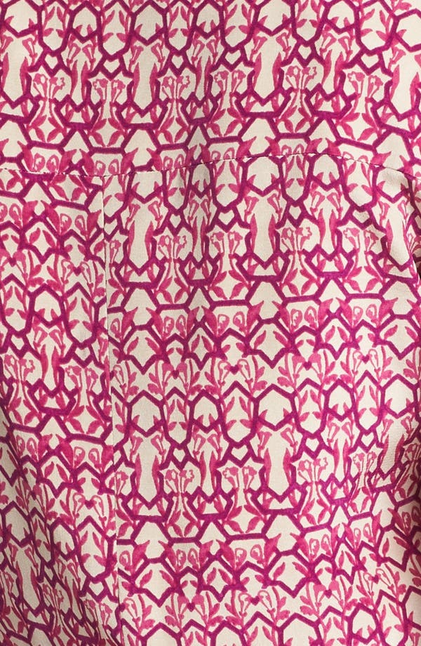 Alternate Image 3  - Rachel Roy 'Abstract Geo' Crop Silk Blazer