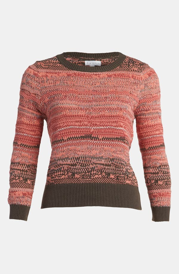 Alternate Image 1 Selected - Leith 'Tattered Stripe' Sweater