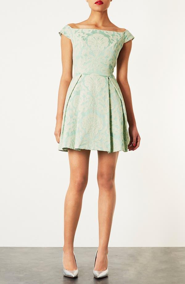 Main Image - Topshop 'Debutante' Off Shoulder Dress