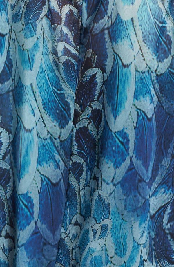 Alternate Image 3  - Evans Print Faux Wrap Blouse (Plus Size)