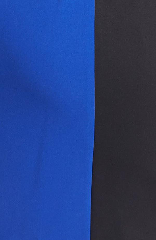 Alternate Image 3  - Calvin Klein Sleeveless Colorblock Dress (Plus Size)
