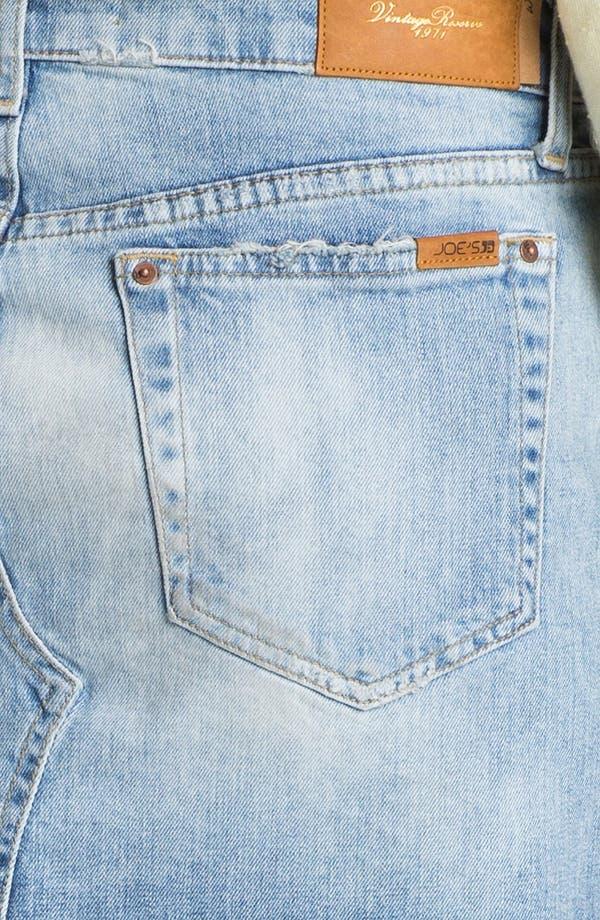 Alternate Image 3  - Joe's 'Easy Cutoff' Denim Miniskirt (Mila)