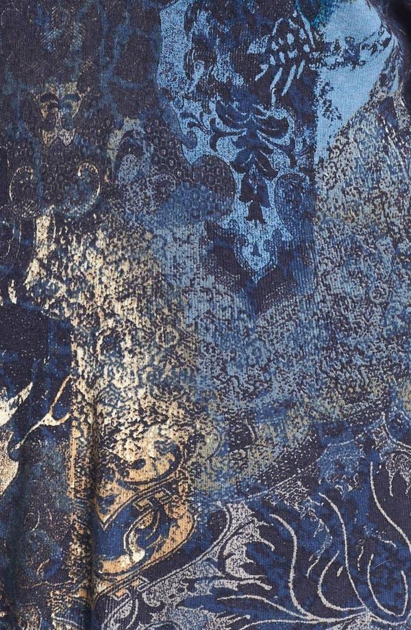 Alternate Image 3  - NIC+ZOE Antique Print Cardigan (Plus Size)