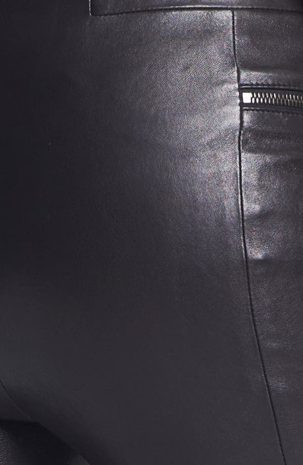 Alternate Image 5  - J Brand Ready-to-Wear 'Minette' Stretch Leather Pants