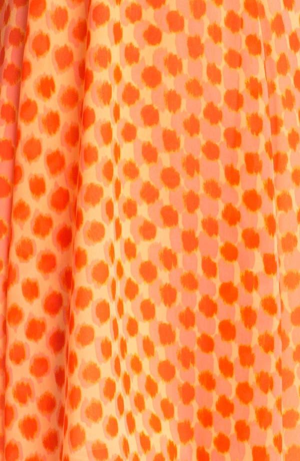 Alternate Image 3  - Vince Camuto Dot Faux Wrap Dress (Petite)